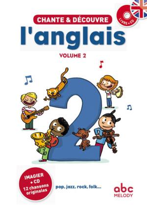couverture chante et découvre l'anglais 2
