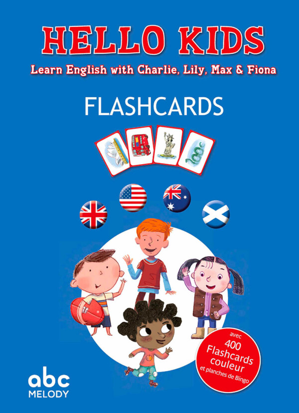 couverture Hello Kids flashcards