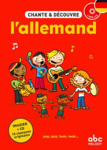 couverture chante et découvre l'allemand