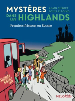 couverture mystères dans les highlands