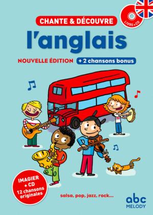 couverture chante et découvre l'anglais