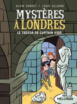 couverture mystères à londres