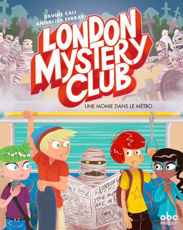 couverture london mystery club