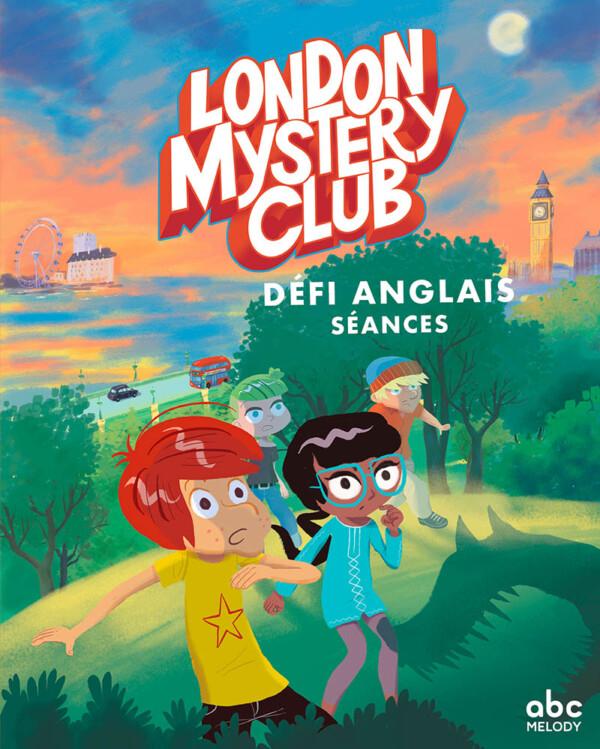 Couverture London Mystery Club défi anglais